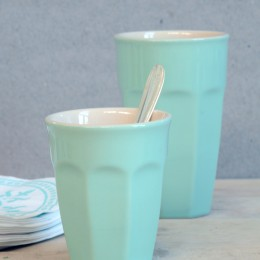 IL 2042-72 mint grøn cafe latte krus